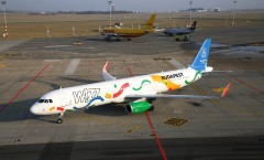 Wizz Air reveals Budapest 2024 Olympic bid livery